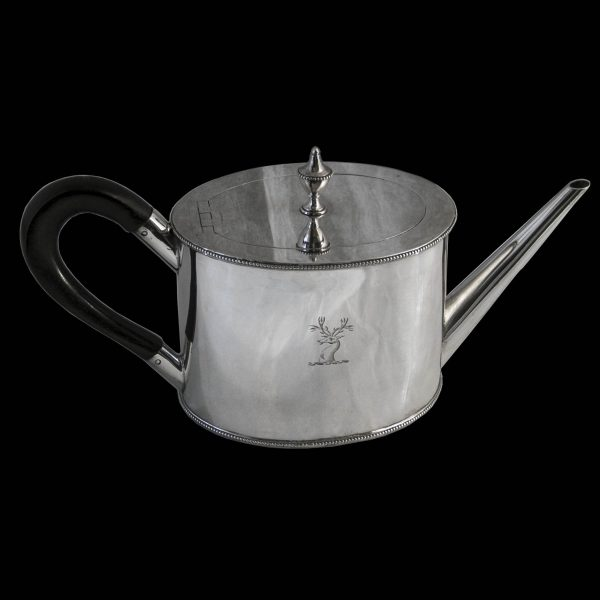 Antique Georgian Silver Teapot
