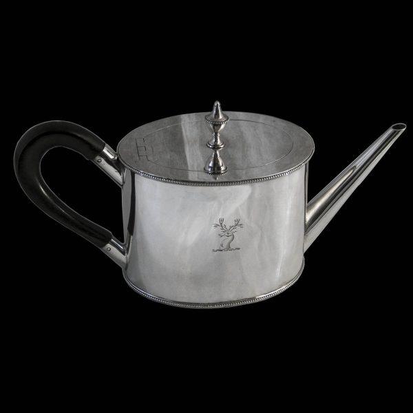 Antique Georgian Silver Teapot