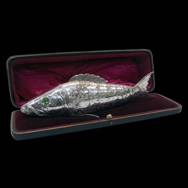 Berthold Muller Antique Silver Articulated Fish