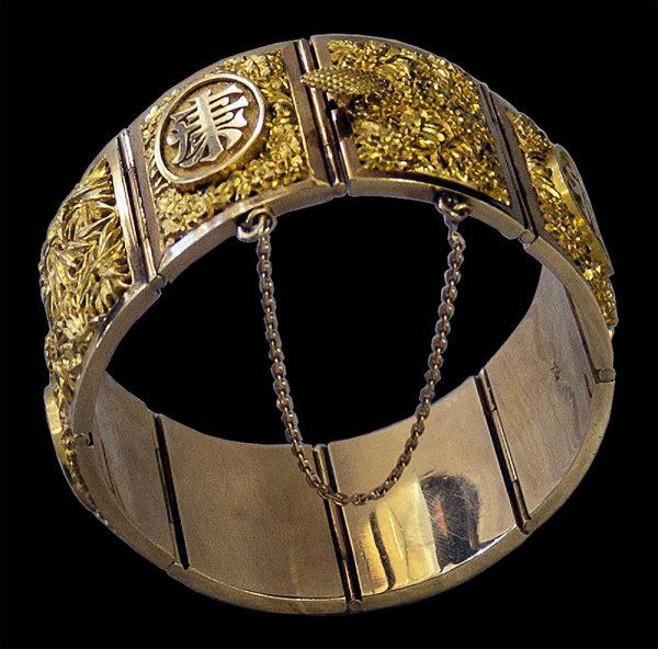 Chinese Export 18 carat Gold Bracelet
