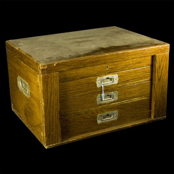 Oak Canteen Box