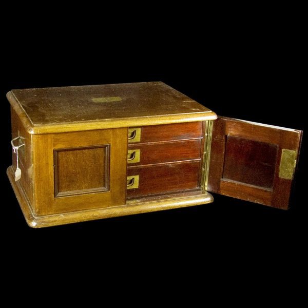 Mahogany Canteen Box