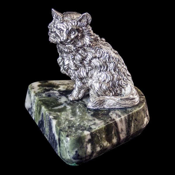 Sterling Silver Cat
