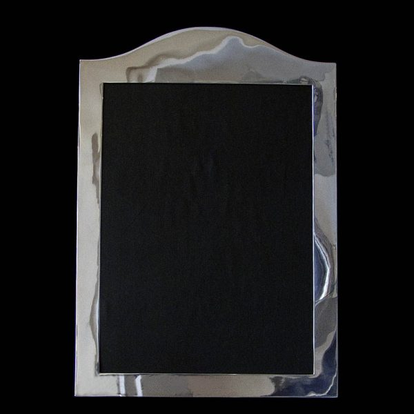A Large Sterling Silver Photograph Frame