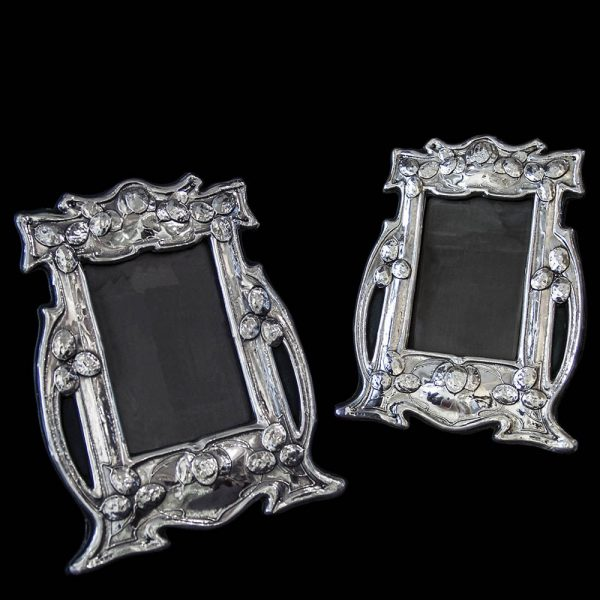 Pair of Sterling Silver Arts & Crafts Photograph Frames