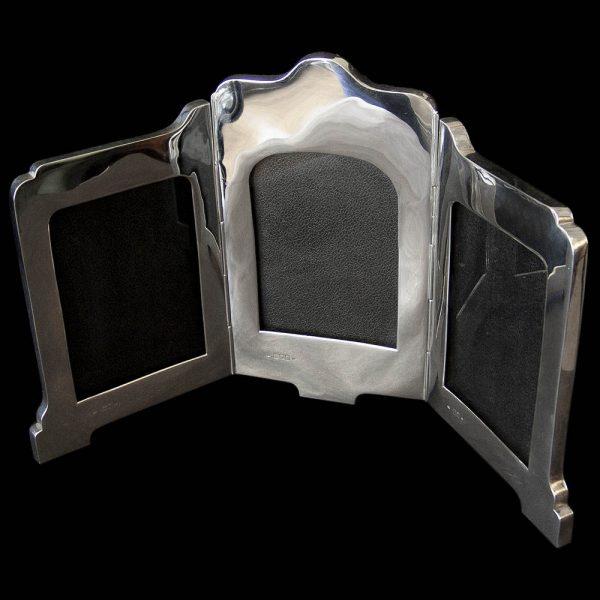 Victorian Silver 'Triple' Photograph Frame