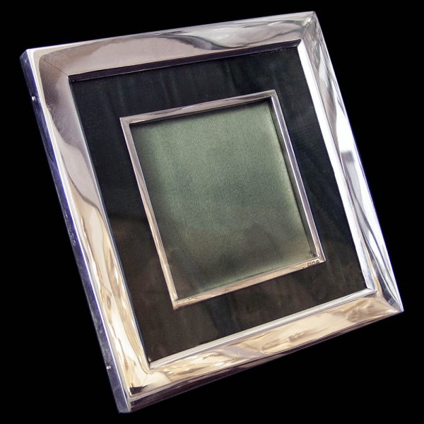 Rectangular Victorian Silver Photograph Frame