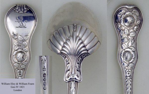 Antique Silver Basting Spoon