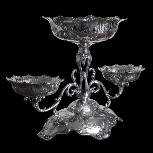 Edwardian Silver Table Centre Piece