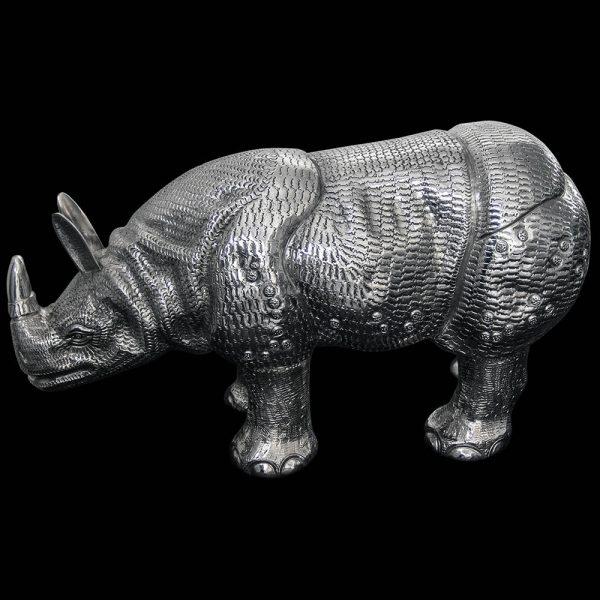 Indian Silver Rhino