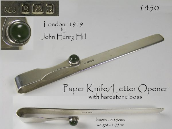 Antique Silver Paper Knife