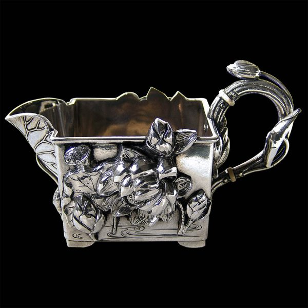 Japanese Silver Cream Jug