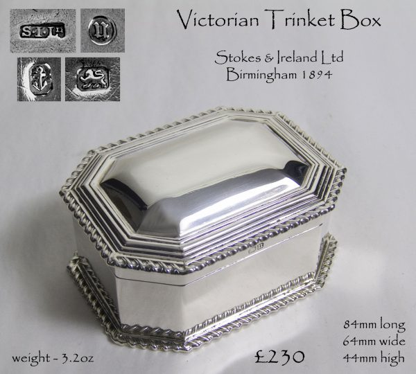 Antique Silver Box