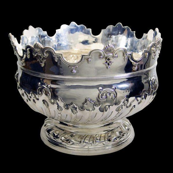 English Silver Bowl