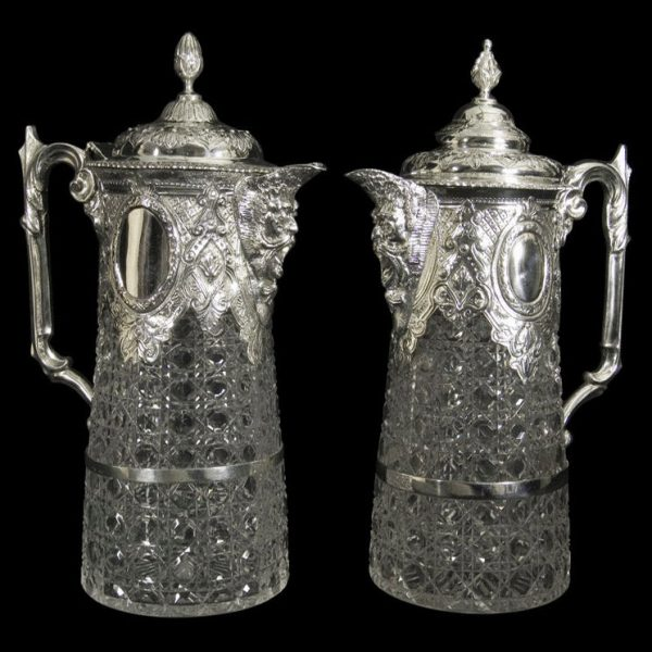 English Silver Claret Jugs