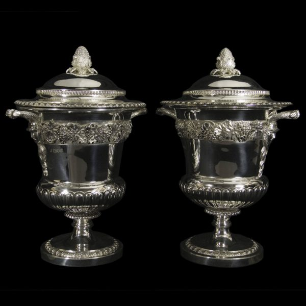 English Silver Cup & Cover