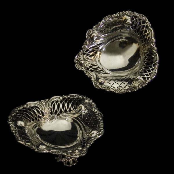 English Silver Dish