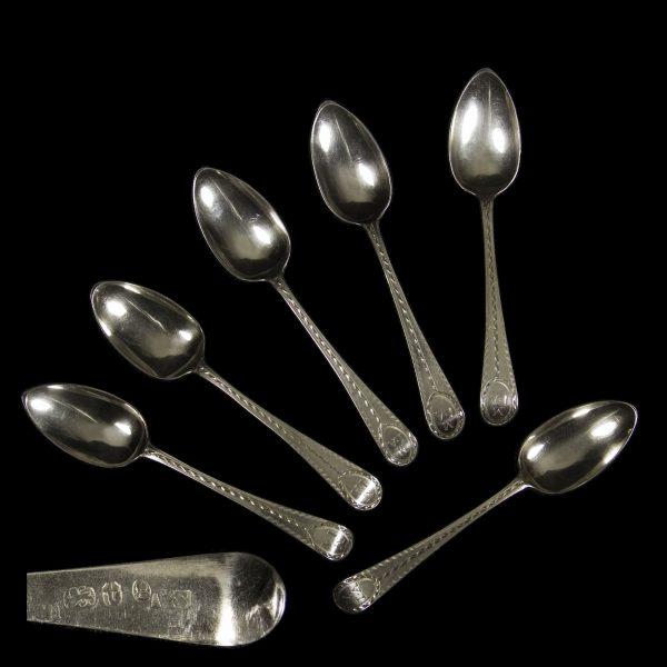 English Silver Teaspoons