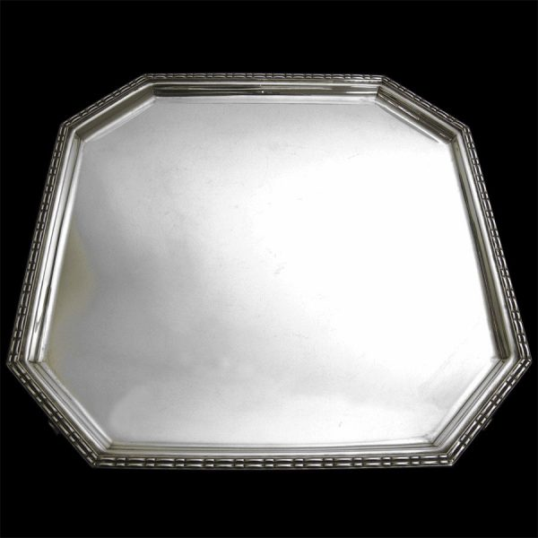 English Silver Salver