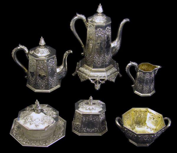 English Silver Teaset