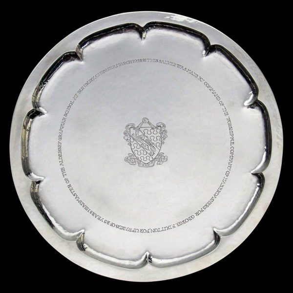 English Antique Silver Salver