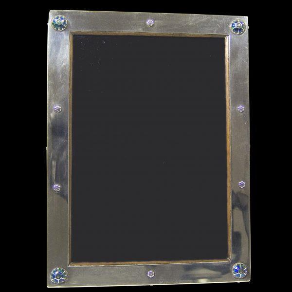 English Antique Silver Photograph Frame