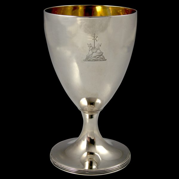 Antique Georgian Silver Goblet