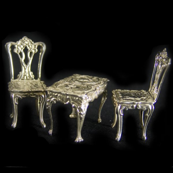 Silver Dolls' House Furniture