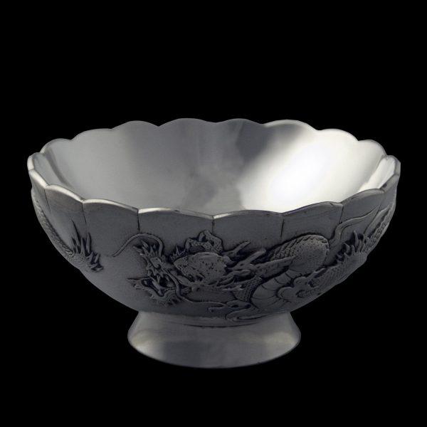 Japanese silver bowl