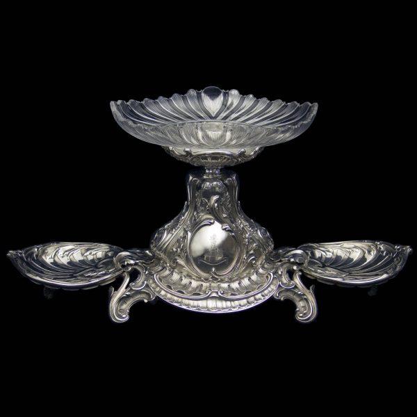 Antique Silver Victorian Centrepiece
