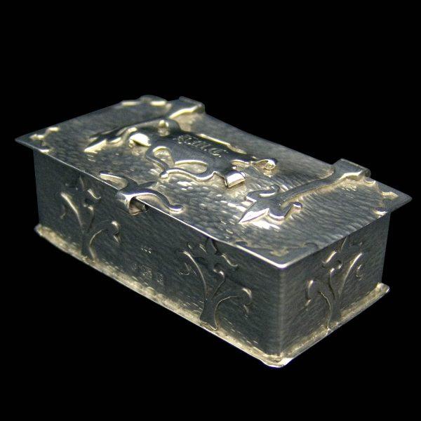 English Antique Silver Box