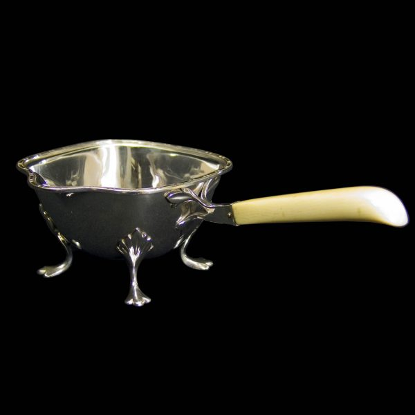 English Silver Art Deco Sauce Boat