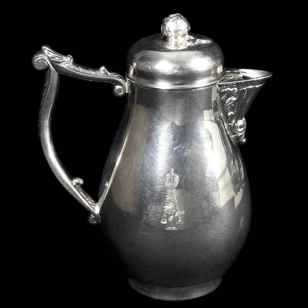 Antique Royal Russian Silver Chocolate Pot