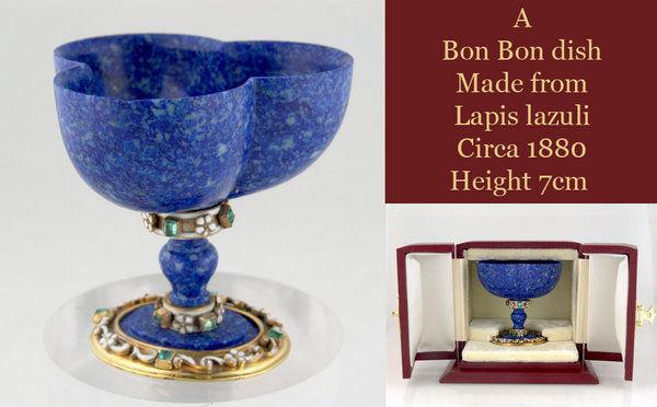 Lapis Lazuli Bon Bon dish