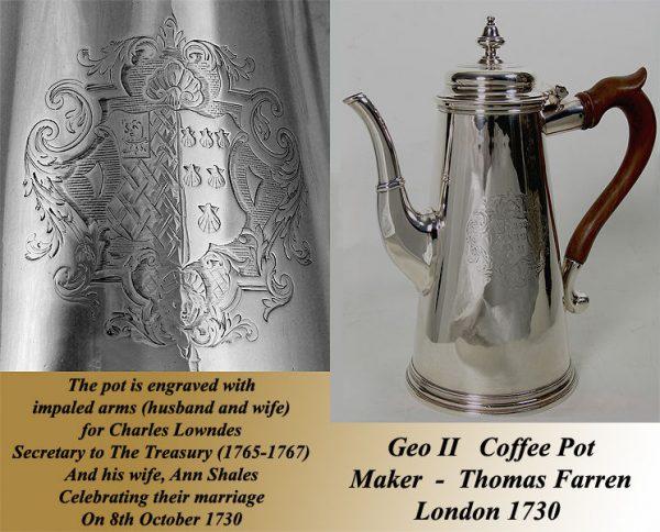Geo II Coffee Pot