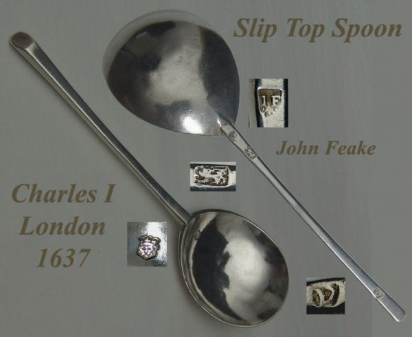 Charles I Slip Top Spoon