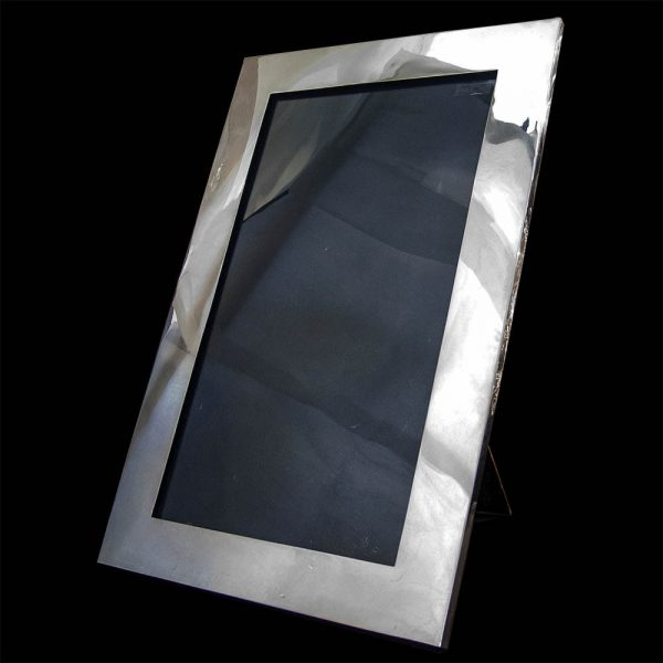 English Sterling Silver Art Deco Frame